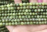CCJ331 15.5 inches 6mm round green China jade beads wholesale