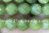 CCJ370 15.5 inches 6mm faceted round China jade beads wholesale