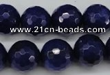 CCN1217 15.5 inches 16mm faceted round candy jade beads wholesale