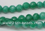 CCN1223 15.5 inches 8mm faceted round candy jade beads wholesale