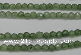 CCN1320 15.5 inches 4mm faceted round candy jade beads wholesale
