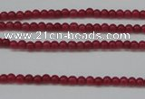 CCN1331 15.5 inches 2mm round candy jade beads wholesale