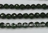 CCN1921 15 inches 6mm faceted round candy jade beads wholesale