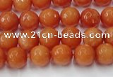 CCN2051 15 inches 6mm faceted round candy jade beads wholesale