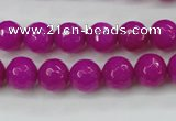 CCN2296 15.5 inches 10mm faceted round candy jade beads wholesale