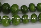 CCN2758 15.5 inches 5*8mm - 12*16mm faceted rondelle candy jade beads
