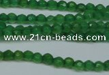 CCN2819 15.5 inches 3mm tiny faceted round candy jade beads