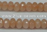 CCN2851 15.5 inches 2*4mm faceted rondelle candy jade beads