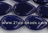 CCN3903 15.5 inches 18*25mm flat teardrop candy jade beads