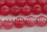 CCN4032 15.5 inches 10mm round candy jade beads wholesale