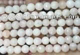 CCN5050 15.5 inches 8mm & 10mm faceted round candy jade beads