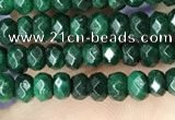 CCN5123 15 inches 3*4mm faceted rondelle candy jade beads