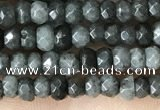 CCN5124 15 inches 3*4mm faceted rondelle candy jade beads