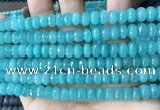 CCN5150 15 inches 5*8mm faceted rondelle candy jade beads