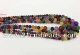 CCN5217 6mm - 14mm faceted round candy jade graduated beads