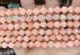 CCN5233 15 inches 8mm faceted nuggets candy jade beads