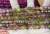 CCN5260 15 inches 8mm faceted nuggets candy jade beads