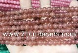 CCN5278 15 inches 6mm round candy jade beads Wholesale