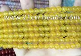 CCN5282 15 inches 6mm round candy jade beads Wholesale