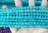CCN5289 15 inches 6mm round candy jade beads Wholesale