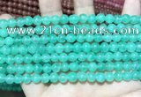 CCN5291 15 inches 6mm round candy jade beads Wholesale