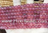 CCN5293 15 inches 6mm round candy jade beads Wholesale