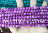 CCN5295 15 inches 6mm round candy jade beads Wholesale