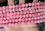 CCN5324 15 inches 8mm round candy jade beads Wholesale