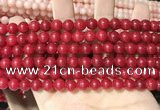 CCN5373 15 inches 8mm round candy jade beads Wholesale