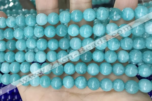 CCN5401 15 inches 8mm round candy jade beads Wholesale