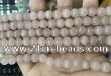 CCN5441 15 inches 8mm round candy jade beads Wholesale