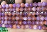 CCN5477 15 inches 8mm round candy jade beads Wholesale