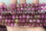 CCN5478 15 inches 8mm round candy jade beads Wholesale