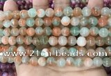 CCN5480 15 inches 8mm round candy jade beads Wholesale