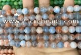 CCN5481 15 inches 8mm round candy jade beads Wholesale