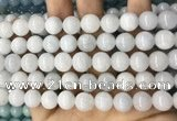 CCN5500 15 inches 8mm round candy jade beads Wholesale