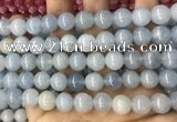 CCN5501 15 inches 8mm round candy jade beads Wholesale