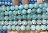 CCN5508 15 inches 8mm round candy jade beads Wholesale