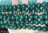 CCN5518 15 inches 8mm round candy jade beads Wholesale