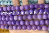 CCN5529 15 inches 8mm round candy jade beads Wholesale