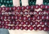CCN5536 15 inches 8mm round candy jade beads Wholesale