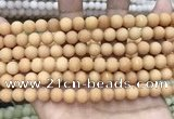 CCN5588 15 inches 8mm round matte candy jade beads Wholesale