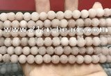 CCN5590 15 inches 8mm round matte candy jade beads Wholesale