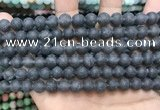 CCN5633 15 inches 8mm round matte candy jade beads Wholesale