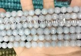 CCN5651 15 inches 8mm faceted round candy jade beads