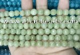CCN5669 15 inches 8mm faceted round candy jade beads