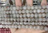 CCN5684 15 inches 8mm faceted round candy jade beads