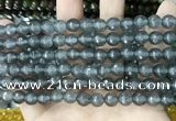 CCN5700 15 inches 8mm faceted round candy jade beads