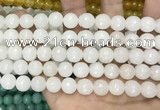CCN5760 15 inches 10mm faceted round candy jade beads