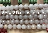 CCN5765 15 inches 10mm faceted round candy jade beads
